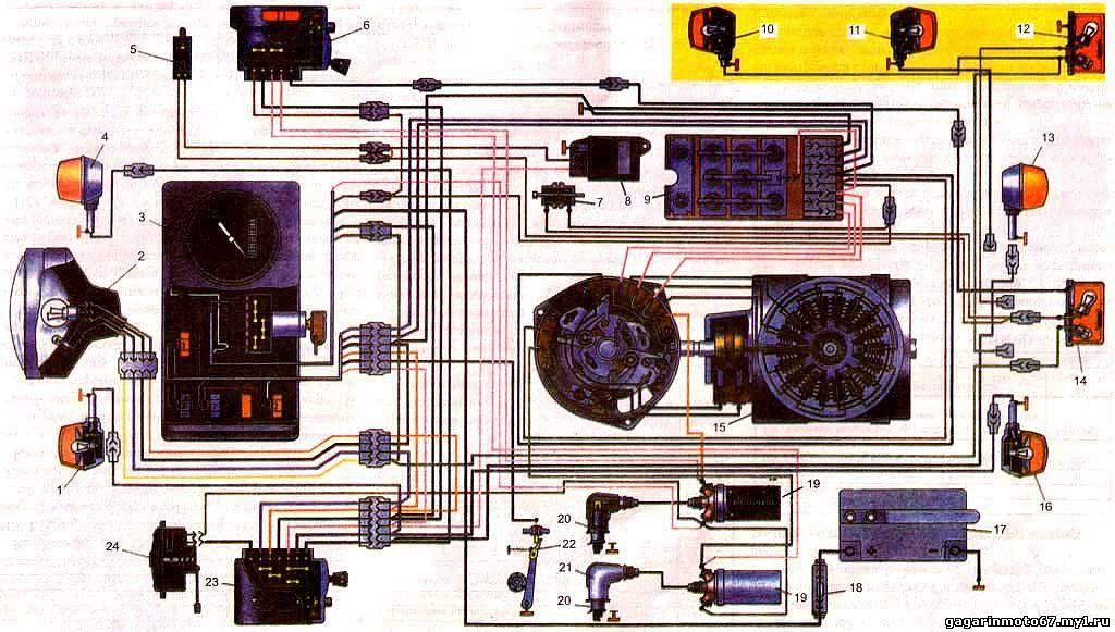 электросхема иж юпитер 4